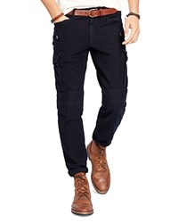 Polo Ralph Lauren Moleskin Slim Fit Cargo Pants Aviator Navy