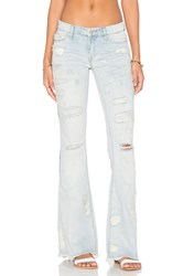 Blank Nyc Distressed Flare Karaoke