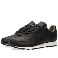 Reebok X Horween Leather Co. Classic Leather Lux Black