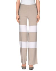 1 One Trousers Casual Trousers Women Light Grey