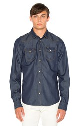 Diesel Sonora Long Sleeve Shirt Denim