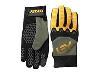 Oakley Factory Pipe Glove Worn Olive Cycling Gloves