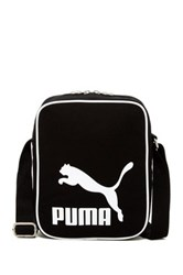 Puma Heritage Canvas Shoulder Bag Black