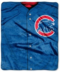Northwest Company Chicago Cubs Raschel Strike Blanket Red