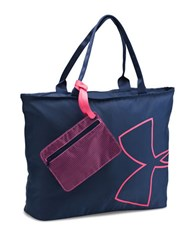 Under Armour Big Logo Tote Bag Midnight Navy