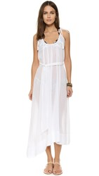 Thayer Breeze Cover Up Dress White Gauze