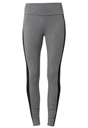 Esprit Sports Tights Asphalt Grey Melange Dark Gray