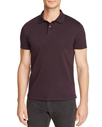 Theory Sandhurst Current Pique Relaxed Fit Polo Shirt Imperial