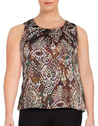 Nipon Boutique Plus Patterned Shell Evergreen