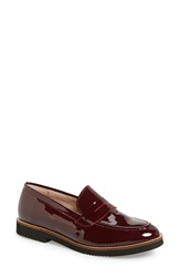Andre Assous Andre Assous 'Jessi' Penny Loafer Women Burgundy Patent