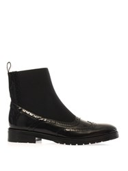 Christopher Kane Leather Elasticated Chelsea Boots