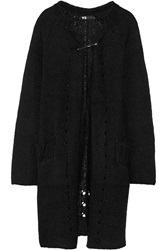 Y 3 Stretch Knit Cardigan Black