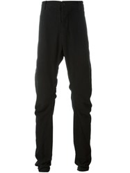Lost And Found Rooms Slim Fit Trousers Black