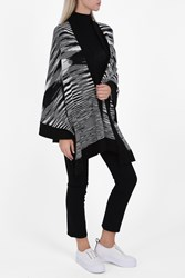 Missoni Women S Solid Border Space Dye Cape Boutique1 Black