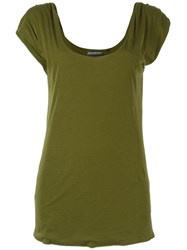 Alexander Mcqueen Scoop Neck Tank Top Green