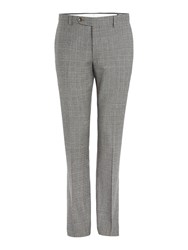 Corsivo Atillo Prince Of Wales Check Suit Trouser Brown