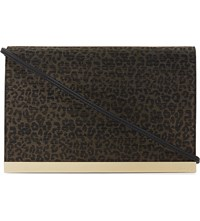 Aldo Trafoi Leopard Spot Cross Body Multi Metallic