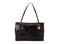 Hobo Friar Black Vintage Leather Shoulder Handbags