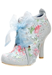Irregular Choice Abigails Party Ankle Boots Blue