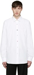 Paul Smith White Variety Buttons Shirt