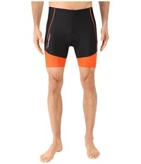 Louis Garneau Men Comp Shorts Grey Orange Men's Shorts Gray