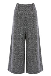 Coast Likka Wide Leg Cropped Trouser Grey