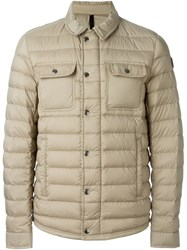 Moncler 'Luberon' Padded Jacket Nude And Neutrals