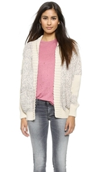 Iro Yolane Cardigan Light Pink Multi