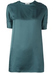 Nina Ricci Ribbon Sleeve Blouse Green
