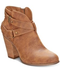 Xoxo Kasper Ankle Booties Women's Shoes Tan