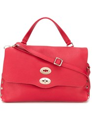 Zanellato Medium 'Postina' Satchel Red