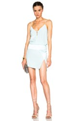 Mason By Michelle Mason Obi Mini Dress In Blue