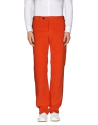 Alain Trousers Casual Trousers Men Brick Red