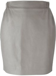 Golden Goose Deluxe Brand 'Jade' Skirt Grey