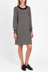 Missoni Women S Striped Tunic Dress Boutique1 Black
