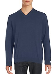 Saks Fifth Avenue Red Long Sleeve V Neck Sweatshirt Charcoal