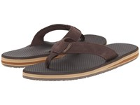 Scott Hawaii Miloli'i Brown Men's Sandals