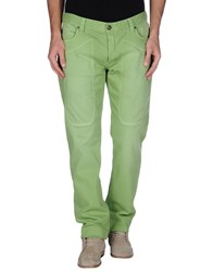 Jeckerson Denim Denim Trousers Men Acid Green
