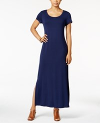 Styleandco. Style Co. Short Sleeve Maxi Dress Only At Macy's Ink