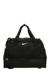Nike Performance Club Team Swoosh Hardcase Sports Bag Black White