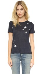 Chinti And Parker Star Print Tee Navy