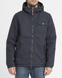 Element Navy Freemont Quilted Lining Waxed Parka Blue