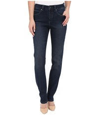 Miraclebody Jeans Five Pocket Addison Skinny Jeans In Seattle Blue Seattle Blue Women's Jeans