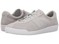 Fred Perry Stockport Unlined Suede Dolphin Dolphin Men's Lace Up Casual Shoes Gray