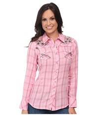 Ariat Howell Plaid Snap Shirt Multi Women's Long Sleeve Button Up
