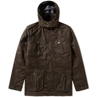 Barbour Roker Jacket Brown
