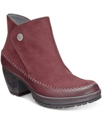 Jambu Women's Jazz Too Ankle Booties Women's Shoes Burgundy