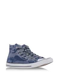 Converse Limited Edition High Tops Dark Blue