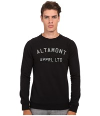 Altamont Non Game Crew Fleece Black Men's Fleece