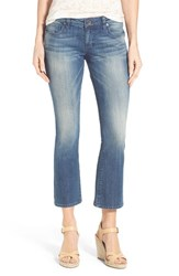 Women's Kut From The Kloth 'Reese' Crop Flare Leg Jeans Primo